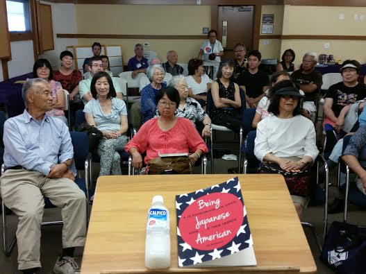 I gave a re0ent reading to a full house at the Japanese American Museum in San Jose's lovely Japantown, and had a blast.