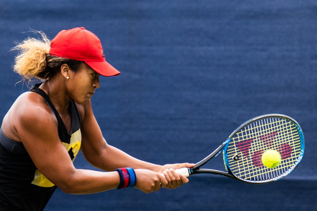 Naomi Osaka photo by Peter Menzel